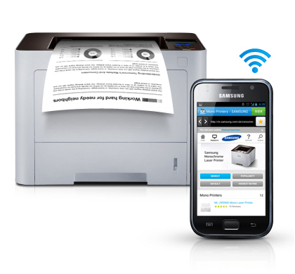 Convenient mobile printing optimised for various business environment1