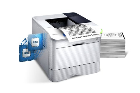 Work with Fast Speed printing performance