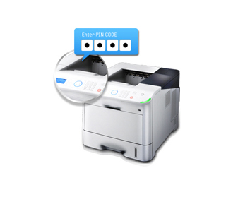 Take control of office documents with Secure Printing