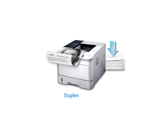 Get more from every page with Duplex printing